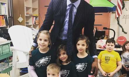 Alshon Jeffrey Visits Second Grader Who Wrote Him a Touching Letter After Eagles Playoff Loss