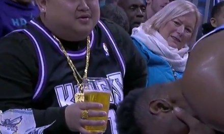 Kings Fan Offers 20-year-old Harry Giles a Beer after He Took a Ball to the Face