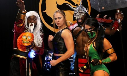 Ronda Rousey Is the New voice of Sonya Blade in Mortal Kombat 11