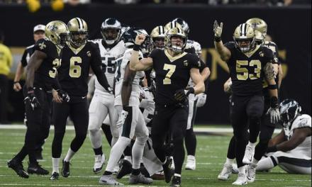 Video Shows How Saints Ran At Fletcher Cox On Fake Punt Because He Takes Plays Off