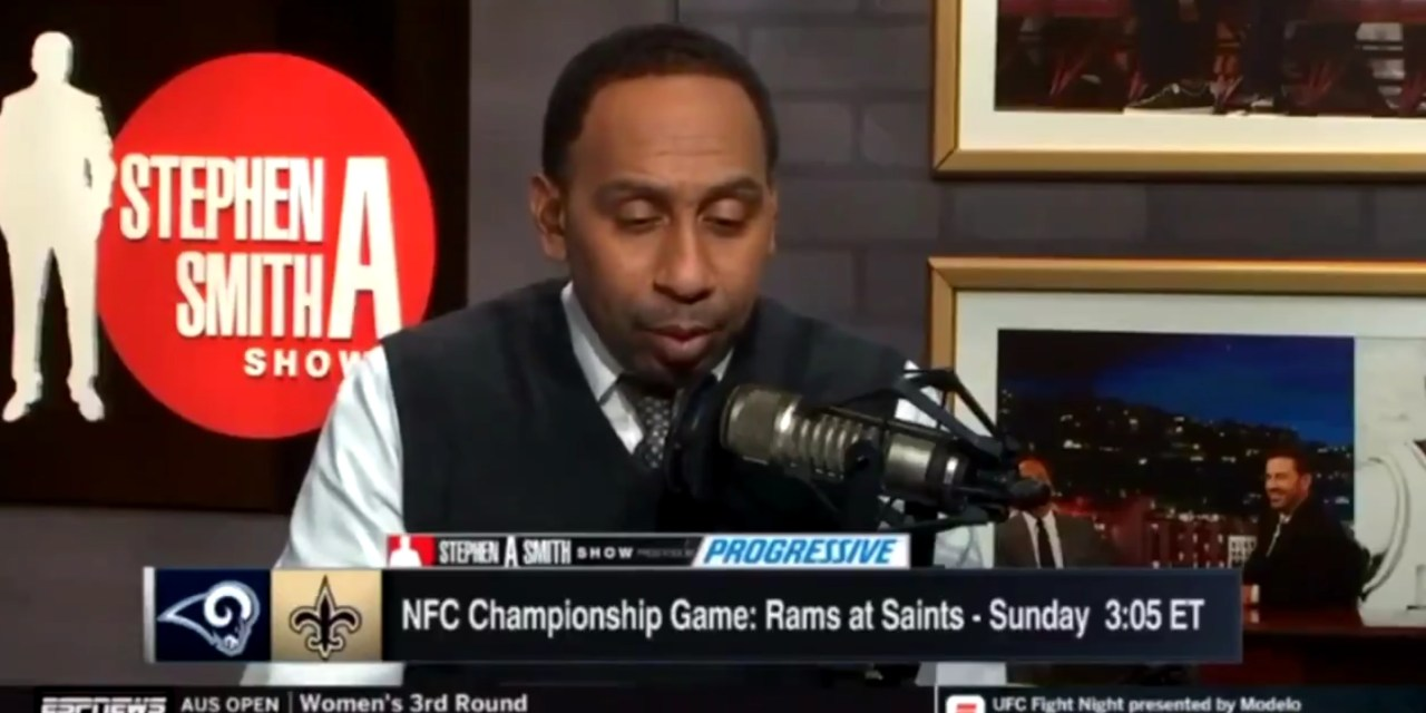 Stephen A. Smith Thinks Kareem Hunt is on the Saints