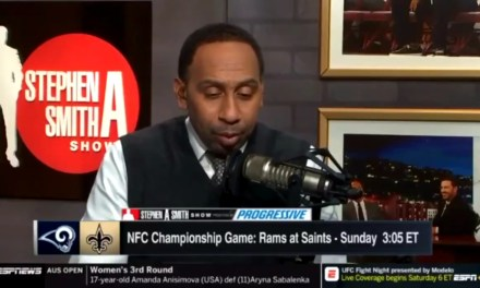 Stephen A. Smith Thinks Kareem Hunt is on the Saints