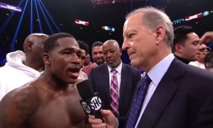 Adrien Broner Gives an Insane Postfight Interview Following Loss to Manny Pacquiao