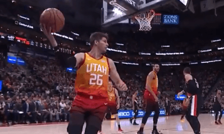 Kyle Korver Forgets the Rules of Basketball and Casually Steps Out of Bounds with the Ball in His Hands