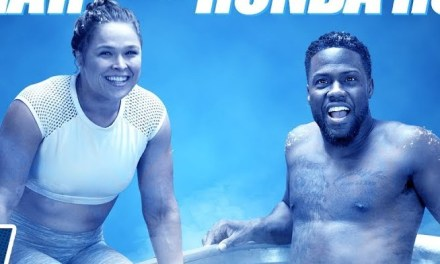 Kevin Hart & WWE Superstar Ronda Rousey Go Head to Head in Cold as Balls