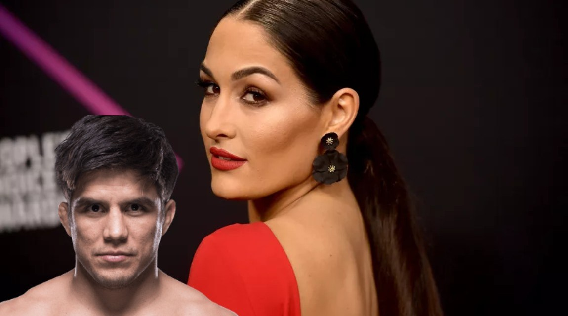 MMA Fighter Henry Cejudo Making His Move on Nikki Bella