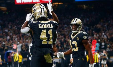 Alvin Kamara and Michael Thomas Respond to News of Super Bowl Ticket Prices Dropping
