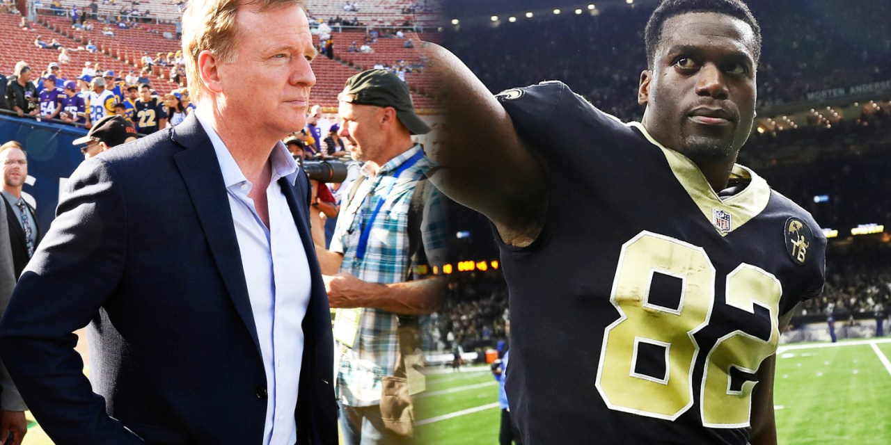 Benjamin Watson Blasts Roger Goodell For no-Call 'Silence'