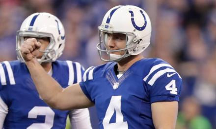 46-Year-Old Kicker Adam Vinatieri Signs One-Year Deal with the Colts
