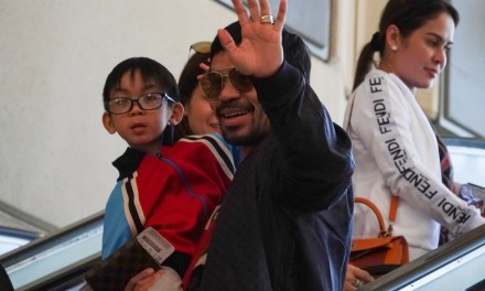 Manny Pacquiao Catches Flight Back to the Philippines