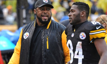 Mike Tomlin Only Tolerates Antonio Brown's Antics Because He Performs