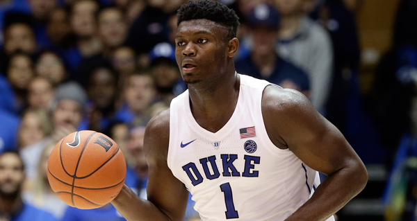 Watch Zion Williamson Get Posterized
