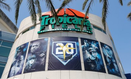 Rays' Tropicana Field Becomes First Cashless Venue in US
