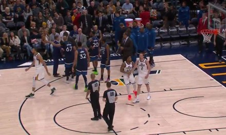 Taj Gibson Had to Be Held Back from Going after a Referee