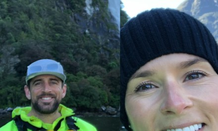 Aaron Rodgers and Danica Patrick's New Zealand Vacation Continues