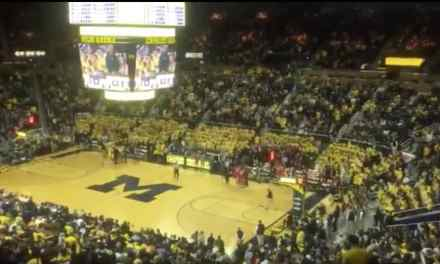 Michigan Fans Had NSFW Chant for Ohio State During Basketball Game