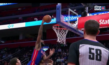 Andre Drummond Put Giannis Antetokonmpo on a Poster