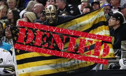 Saints Fan Lawsuit Over NFC Championship Game Gets Denied By Judge