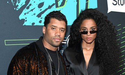 Russell Wilson and Ciara Hit up Bud Light Super Bowl Fest