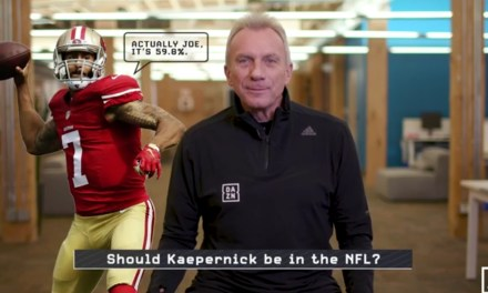 Joe Montana Says Colin Kaepernick Isn't in the NFL Because of His Completion Percentage