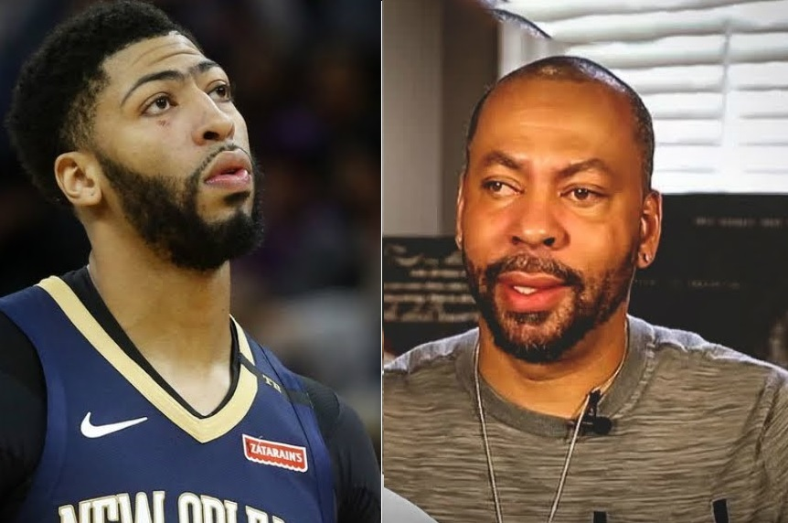 Anthony Davis Sr. Doesn't want His Son in Boston