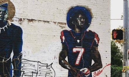 Colin Kaepernick Mural Gets Torn Down in Atlanta Ahead of Super Bowl