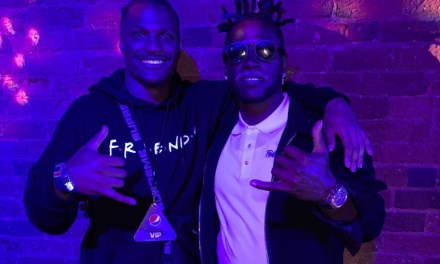 Antonio Brown Hung Out with 49ers Safety Adrian Colbert at a Super Bowl Party