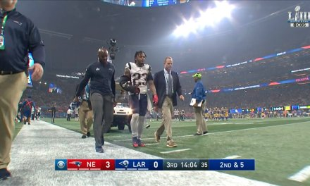 Patriots Safety Patrick Chung Left the Super Bowl with His Arm in an Aircast