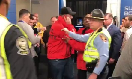 Man Busted Trying to Get Into the Patriots Locker Room with a Stolen Security Jacket On