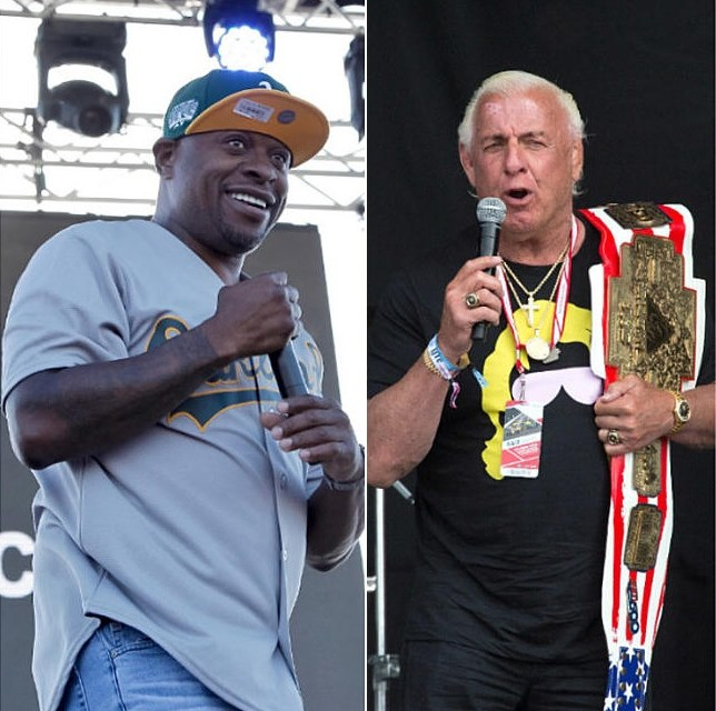 Rapper Scarface Calls Out Wrestler Ric Flair For Being Racist