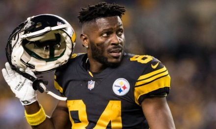 Antonio Brown Involved in a Domestic Dispute in January