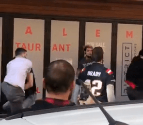 Massholes Start Beating the Crap Out of Each Other during Patriots Super Bowl Parade