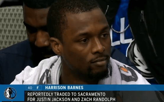 Mavericks Trade Harrison Barnes in the Middle of a Game