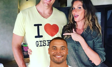 Dak Prescott Has Gisele's Name Come Out of His Mouth
