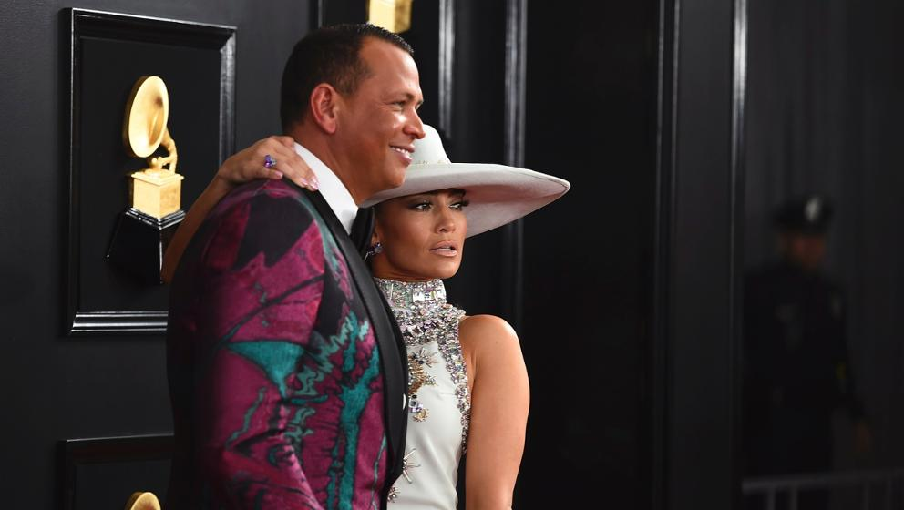 A-Rod Plays Instagram Husband to J-Lo at the Grammys