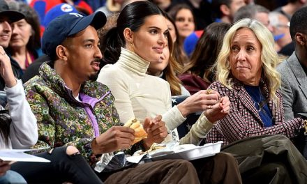 Kendall Jenner Takes Helicopter From NYC to Cheer on Ben Simmons