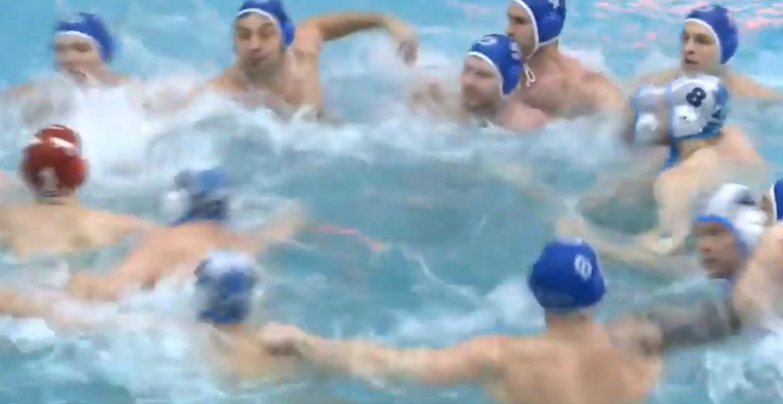 A Mass Brawl Erupted During a Water Polo Match
