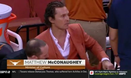 "Matthew McConaughey is the ""Minister of Culture"" for Texas Basketball"