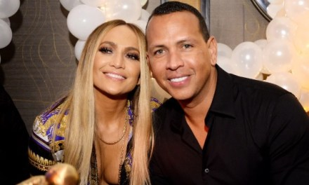 J-Lo Revealed What A-Rod Got Her for First Valentine's Day
