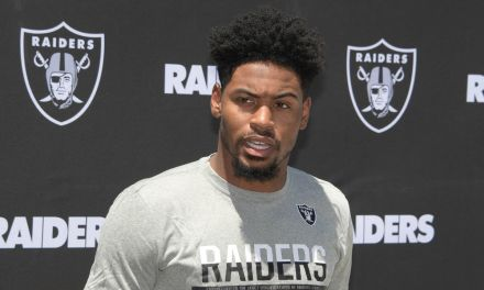Raiders CB Gareon Conley Says He's Single, Which is News to Girlfriend Emily Huff