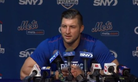 Tim Tebow Is Still All in On Baseball Even After Steve Spurrier's Advances