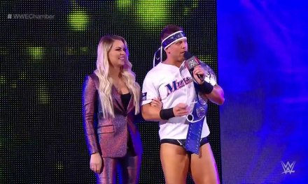 The Miz and Wife Maryse Announce Big Reveal on WWE Stage