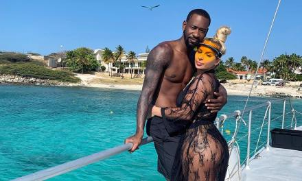 Terrence Ross and His Wife Matijana In 'Cheers to Light Skin Babies' Controversy