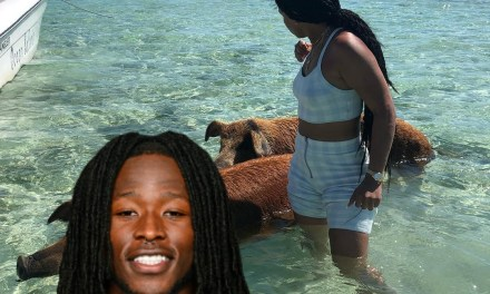 Alvin Kamara Responds to Being Seen on Vacation with a Stripper Named Just Ace