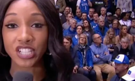 Barack Obama Caught Appearing to Stare at ESPN Reporter Maria Taylor