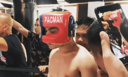 Manny Pacquiao Doesn't Want His Son to Become a Boxer