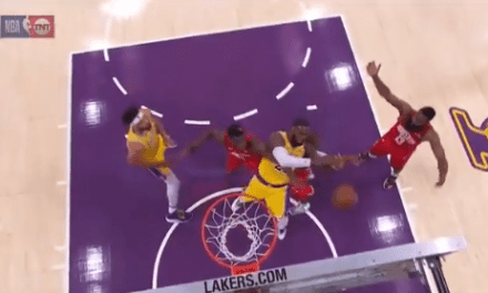 Chris Paul Tried to Rip LeBron James' Arm Off on Extremely Dirty Play