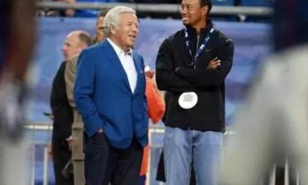 Tiger Woods Also Involved in Bob Kraft Prostitution Scandal?