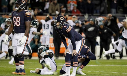 Bears Have Decided to Release Kicker Cody Parkey