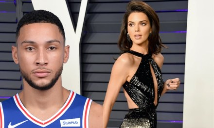 Ben Simmons Girlfriend Kendall Jenner Came Very Close to a Wardrobe Malfunction at the Oscars
